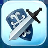 Large Shield Token
