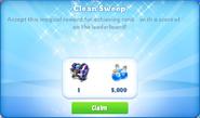 Me-clean sweep-5-prize