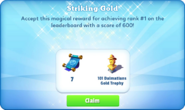Me-striking gold-104-prize