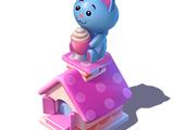 Kitty Balloon Stand