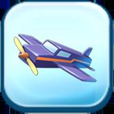 Dewey's Toy Plane Token