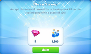 Me-clean sweep-7-prize