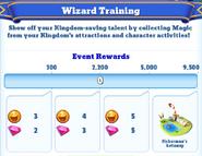 Me-wizard training-1-milestones
