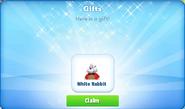 Cp-white rabbit-promo-gift