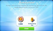 Me-striking gold-38-prize