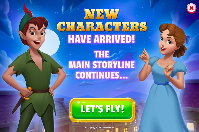 Peter Pan Storyline (Act 5)