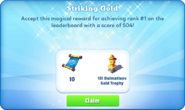 Me-striking gold-103-prize
