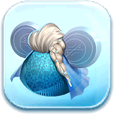 Elsa Ears Hat Token