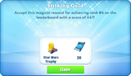 Me-striking gold-72-prize