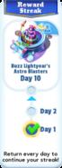 Reward streak-10d
