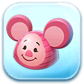 Piglet Ears Hat Token