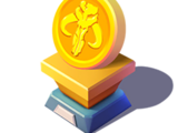 The Mandalorian Gold Trophy