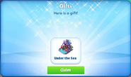 Ba-under the sea-gift
