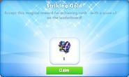 Me-striking gold-24-prize