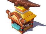 Chocolate Crocodile Stand