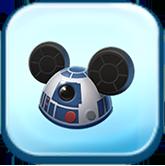 R2-D2 Ears Hat Token