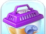 Purple Critter Carrier Token