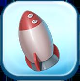 Huey's Rocket Toy Token