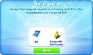 Me-striking gold-90-prize