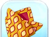 Orange Pattern Fabric Token