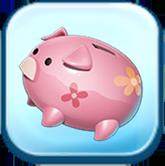 Scrooge McDuck Piggy Bank Token