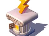 Zeus' Lightning Bolt Stand