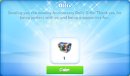1ya-day 2-gift-missing
