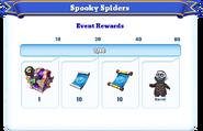 Me-spooky spiders-9-milestones