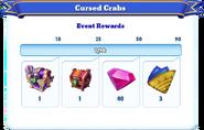 Me-cursed crabs-1-milestones