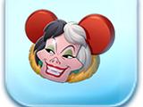 Cruella Ears Hat Token