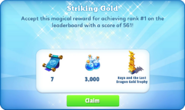 Me-striking gold-94-prize