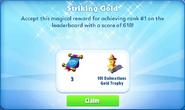Me-striking gold-102-prize