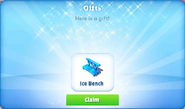 D-ice bench-gift