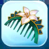 Lotus Hairpiece Token