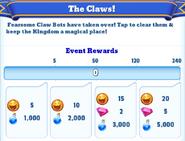 Me-the claws-1-milestones
