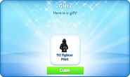 Cp-tie fighter pilot-gift