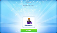 Cp-the queen-promo-gift