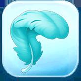 Drizella's Hair Feather Token