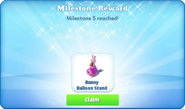 Me-ms5-bc-bunny balloon stand