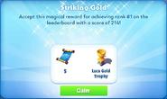 Me-striking gold-101-prize