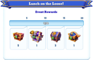 Me-lunch on the loose-1-milestones
