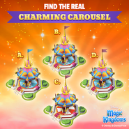 Ad-prince charmings regal carrousel