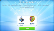 Me-striking gold-18-prize