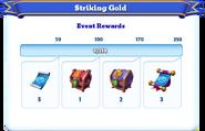 Me-striking gold-99-milestones