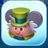 Mad Hatter Ears Hat Token