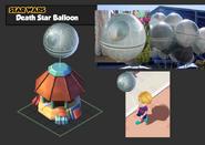 Bc-death star balloon stand-c