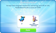 Me-striking gold-105-prize