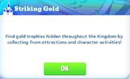 Me-striking gold-