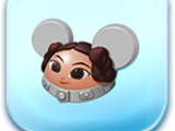 Leia Organa Ears Hat Token
