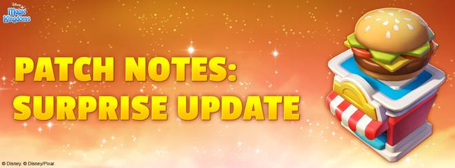 Surprise Update